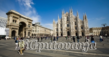 800 rsd vaučer za extra popust na putovanje u Milano (2 noćenja u htl 3* sa doručkom i prevoz) za 79e