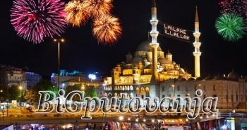 DOČEK NOVE 2020. GODINE U ISTANBULU - 3 nocenja vec od 129e