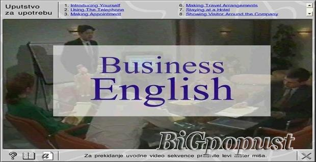 1200 rsd za kurs Business English na dva CD-a 2