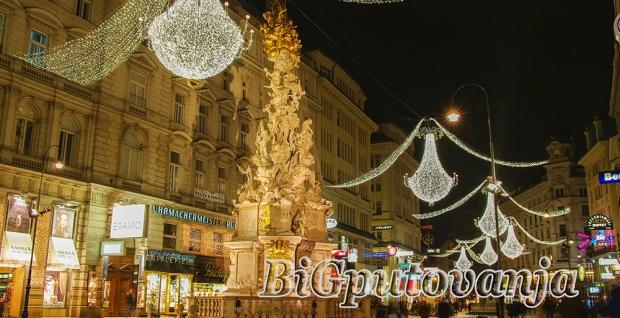 300 rsd vaučer za extra popust na putovanje u Beč za Novu godinu za 29e