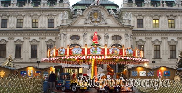 500 rsd vaučer za extra popust na putovanje u Beč za Novu godinu (2 nocenja u htl 3* sa dorućkom i prevoz) za 79e