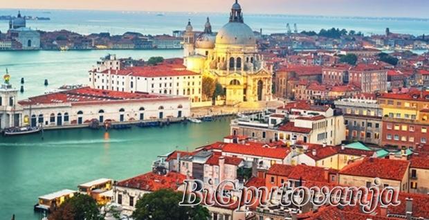 500 rsd vaučer za extra popust na putovanje u Veneciju autobusom - 1 noćenje u hotelu sa 3* i prevoz za 49e/55e