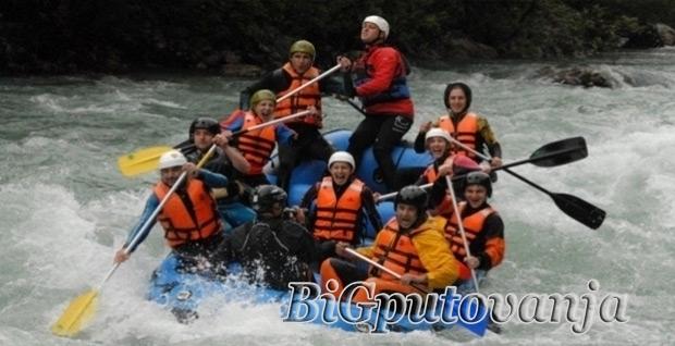 500 rsd vaucer za Kamp Ivona: Rafting na Tari ili Safari