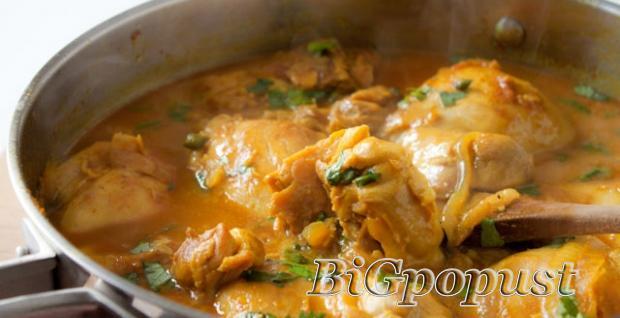 650, din, za, dve, porcije, curry, chickena, na, indijski, nain, , desert,