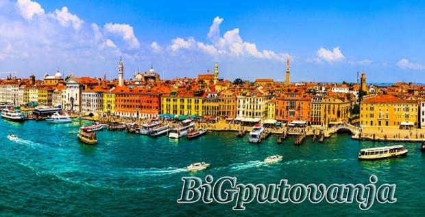700 rsd vaučer za extra popust na putovanje u Veneciju (2 noćenja  u htl 3* sa doručkom i prevozom) za 69e