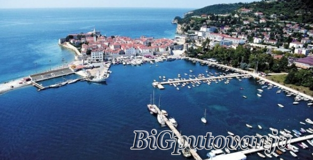 BUDVA (Slovenska Plaza, Hotel Aleksandar, Hotel Mogren, Hotel Blue Star)