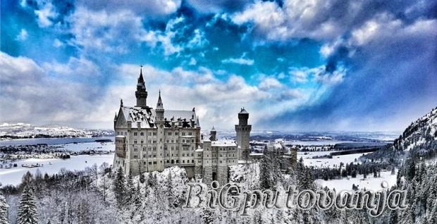dvorci, bavarske, , autobus, , 29122019