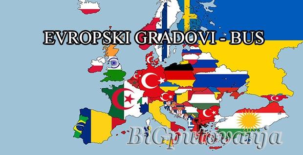 GRADOVI EVROPE - AUTOBUS (Venecija, Rim, Milano, Umbrija, Cinque Terre, Bec, Budimpesta, Istanbul, Alzas i Švarcvald, Azurna obala i Ligurija, Dvorci Bavarske, Najlepša jezera Italije i Austrije)