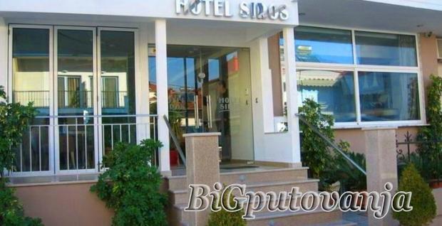 LEPTOKARIA - HOTEL - VILA SIROS (10 nocenja najam) vec od 100e
