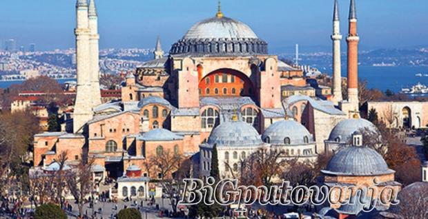 ISTANBUL - 6 dana /3 noći (fakultativno odlazak u Bursu)