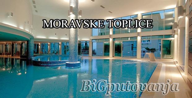 MORAVSKE TOPLICE (Hoteli 4*- 5* Termal, Ajda i Livada prestige) 2 nocenja po osobi na bazi polupansiona vec od 100e