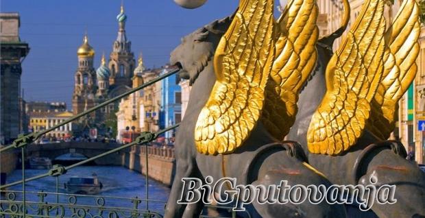 NOVOGODIŠNJE PUTOVANJE - Sankt Peterburg i Moskva - AVIONOM - 8 dana - 7 noci vec od 635e