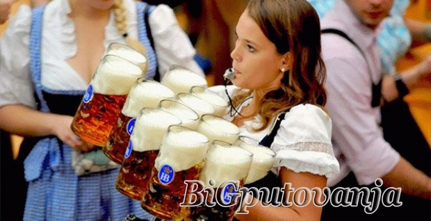 Oktobarfest najveći festival piva na svetu u Minhenu