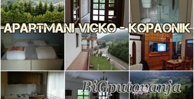Proleće - leto na Kopaoniku (7 dana za 2-4 osobe) u apartmanima VICKO samo 8500 rsd uz kupovinu vaucera