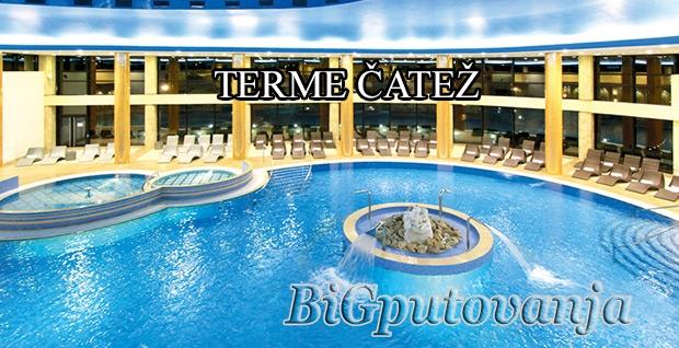 TERME ČATEŽ  (Hoteli 3*- 4* Čatež, Toplice i Terme) 3 nocenja po osobi na bazi polupansiona vec od 122e