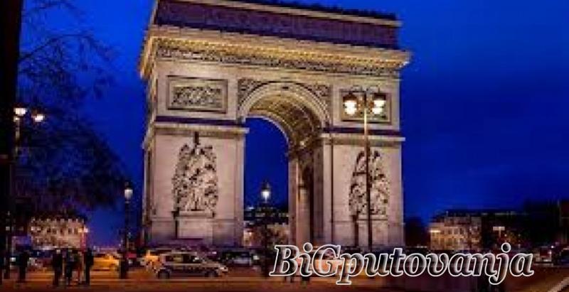 1000 rsd vaučer za extra popust na putovanje u Pariz autobusom - 4 noćenja u hotelima sa 3* (3 u Parizu i 1 Bratislavi za 225e 3