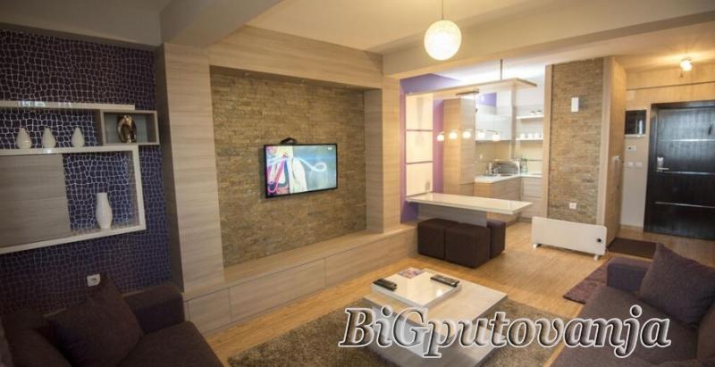 10000 din za tri noćenja za dve osobe-radni dani u studio apartmanu uz neograničeno korišćenje spa centra (bazeni, sauna, parno kupatilo, slana soba, đakuzi kade sa hidromasažerima) - MujenLux Kopaonik 4