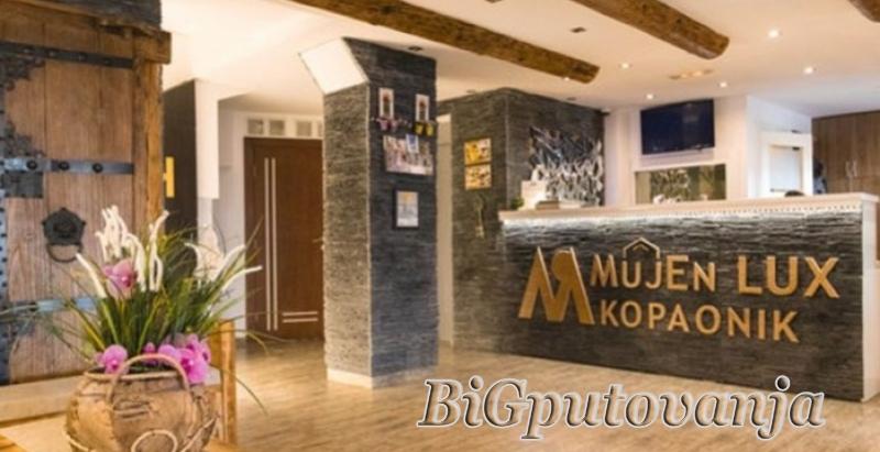 10000 din za tri noćenja za dve osobe-radni dani u studio apartmanu uz neograničeno korišćenje spa centra (bazeni, sauna, parno kupatilo, slana soba, đakuzi kade sa hidromasažerima) - MujenLux Kopaonik 2