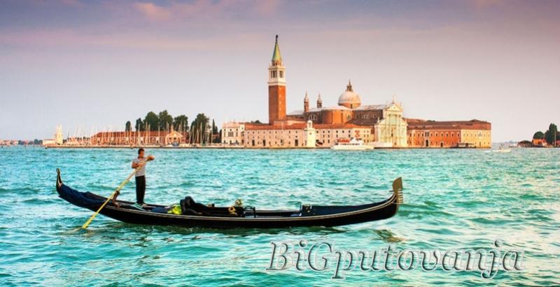 500 rsd vaučer za extra popust na putovanje u Veneciju (1 noćenje u htl 3* sa doručkom i prevoz) za 49e 2