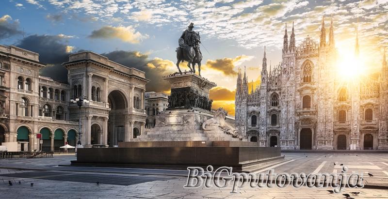 800 rsd vaučer za extra popust na putovanje u Milano (2 noćenja u htl 3* sa doručkom i prevoz) za 79e 2