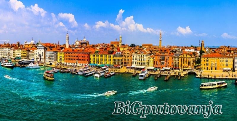 700 rsd vaučer za extra popust na putovanje u Veneciju (2 noćenja  u htl 3* sa doručkom i prevozom) za 69e 1