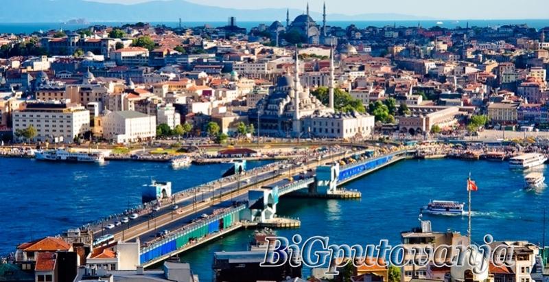 600 rsd vaučer za extra popust na putovanje u Istanbul (2 noćenja u htl 3* sa doručkom i prevoz) za 99e 1
