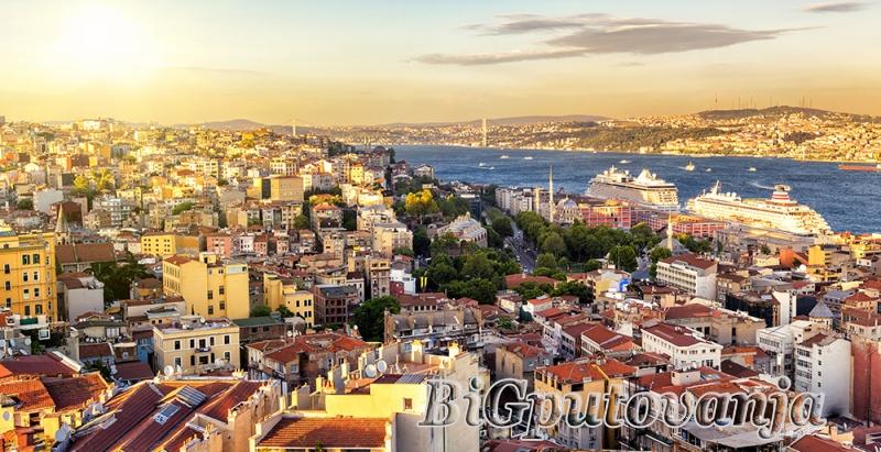 800 rsd vaučer za extra popust na putovanje u Istanbul (3 noćenja u htl 3* sa doručkom i prevoz) za 109e 3