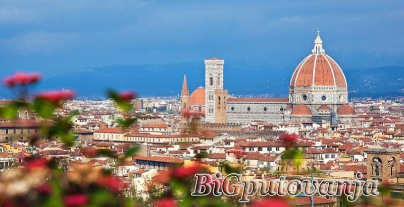 900 rsd vaučer za extra popust na putovanje u Toskanu i Cinque Terre (3 noćenja u htl 3* sa doručkom i prevoz) za 99e 3
