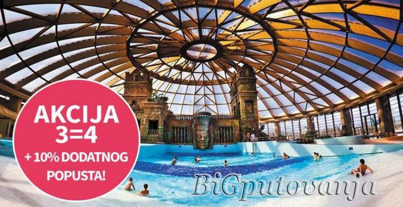 AKCIJA 3=4 NOCI - AQUAWORLD - (SPA & RELAX - AQUA PARK) - Hotel Aquaworld Resort Budapest 4* vec od 164e 1