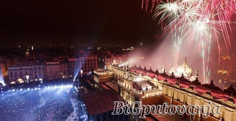 600 rsd vaučer za extra popust na putovanje u Krakov za Novu godinu (3 noćenja sa doručkom ) za 119e 2