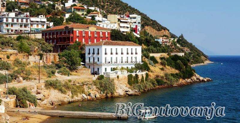 DOCEK Nove 2019. godine na ostrvu Evia - EDIPSOS (7 dana - 4 nocenja) vec od 159e + mogucnost fakultativnog obilaska Atine (30e) 2
