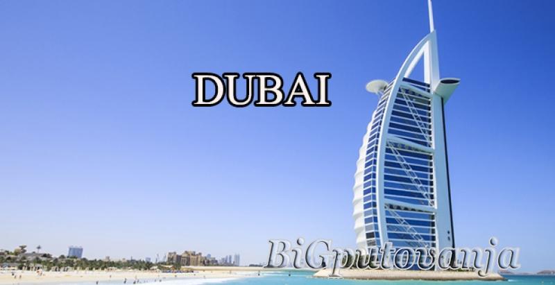 DUBAI - (paket aranzman avion + hotel 3*- 5* na bazi izabrane usluge od 5 noci i vise) vec od 644e po osobi 1