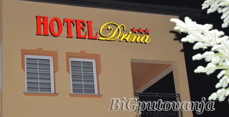 Vaucer od 500 rsd po noci za extra popust na smestaj u Hotelu Drina - nocenje sa doruckom za dve osobe) po ceni vec od 31e 1