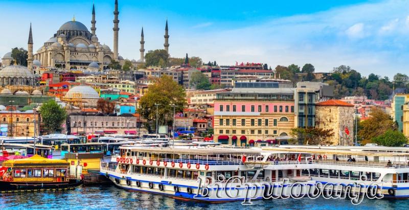 ISTANBUL 3 noćenja / 6 dana / autobusom (hoteli 3* i 4*) 2