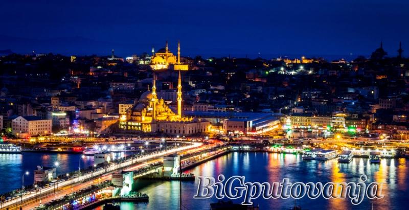 ISTANBUL - 7 dana / 4 noći 2