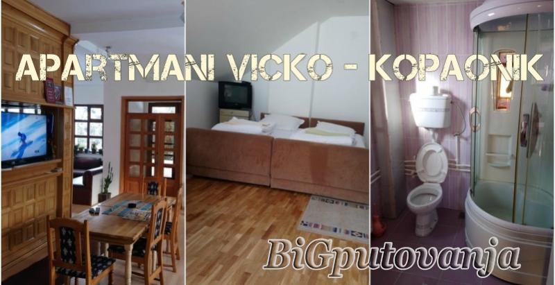 Noćenje u Apartmanima Vicko (2-4 osobe) samo 1800 rsd uz kupovinu vaucera 1
