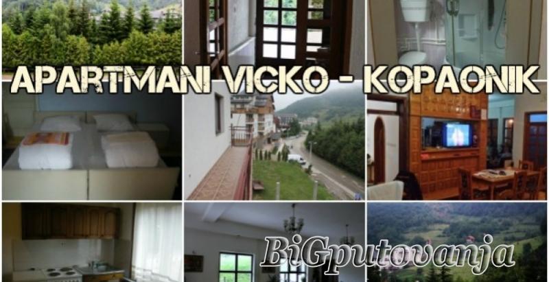 Noćenje u Apartmanima Vicko (2-4 osobe) samo 1800 rsd uz kupovinu vaucera 2
