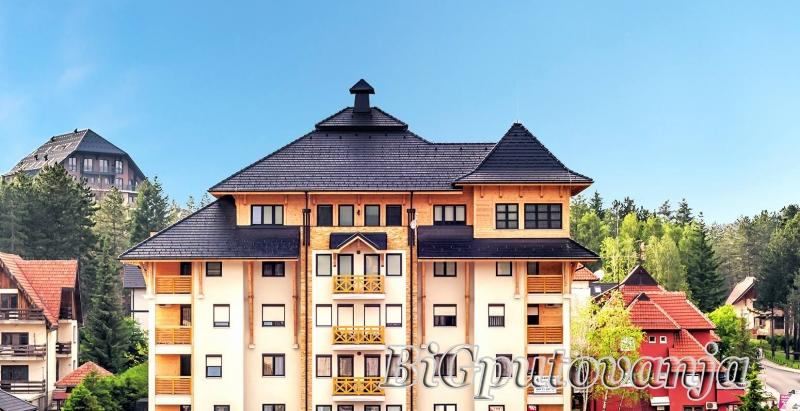 Zlatibor u LUX MONIX centar apartmanima (4-6 osoba) vec od 6000 rsd uz odredjene popuste u zavisnosti od broja noci  1