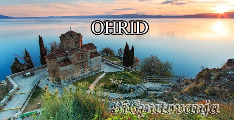 OHRID (hoteli 3*- 4* na bazi izabrane usluge) vec od 20e po osobi dnevno 1