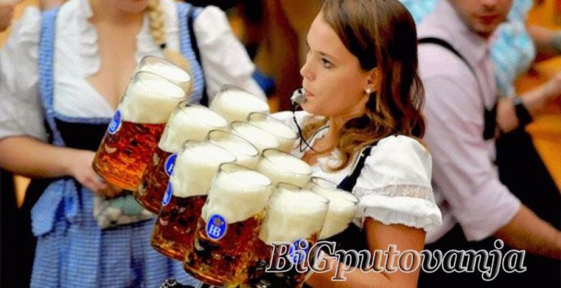 Oktobarfest najveći festival piva na svetu u Minhenu 1