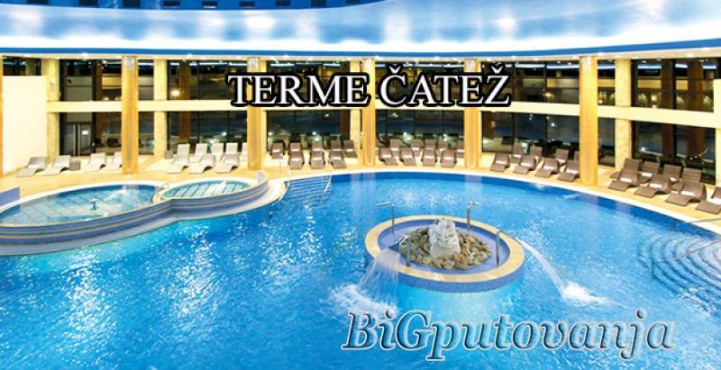 TERME ČATEŽ  (Hoteli 3*- 4* Čatež, Toplice i Terme) 2 nocenja po osobi na bazi polupansiona vec od 93e  1