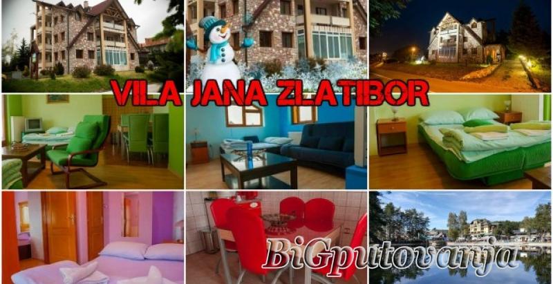 Vaucer od 300 rsd za extra popust: najam novih apartmana u vili Jana na ZLATIBORU (doplata 2667 rsd - 4 osobe) 1