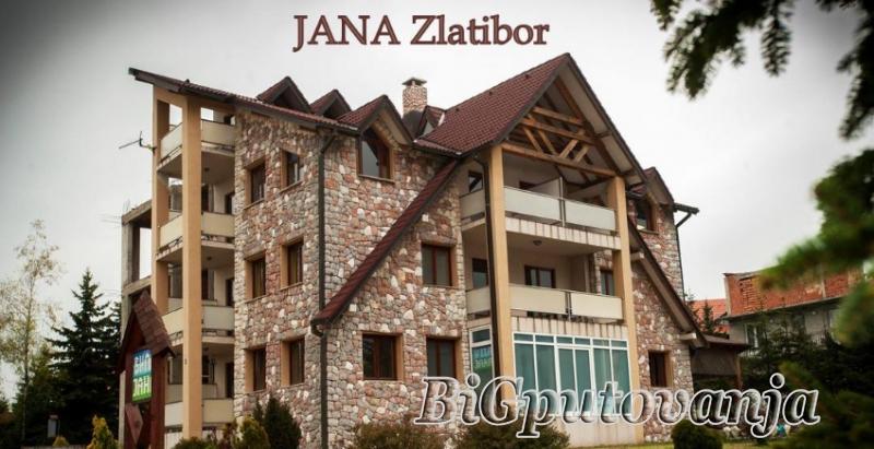 Vaucer od 600 rsd za extra popust: najam novih apartmana sa odvojenom spavacom sobom u vili Jana na Zlatiboru (doplata 5334 rsd - do 8 osoba) 1