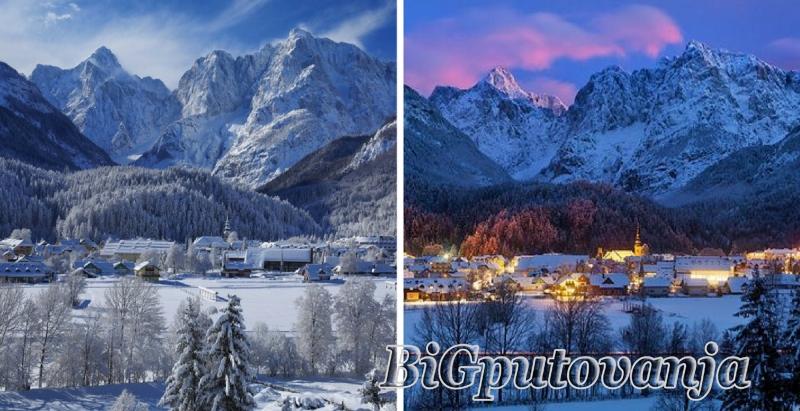 Zimovanje u Slovenačkim Alpima (8 dana autobusom - polupansion - svedski sto) vec od 379e 1